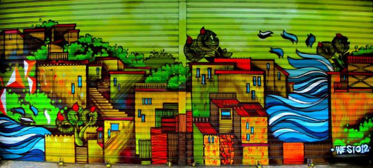 Valparaíso street art © La Mala Testa/Flickr