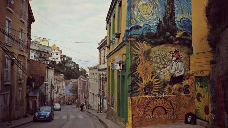 Valparaíso street art © We Travel The World/Flickr