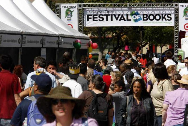 LA Festival of Books via LA Times