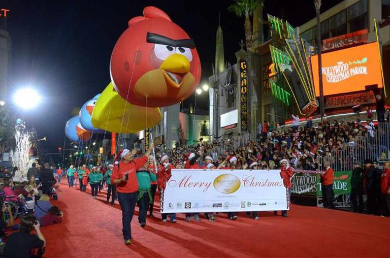 Hollywood Christmas Parade via CBS Local