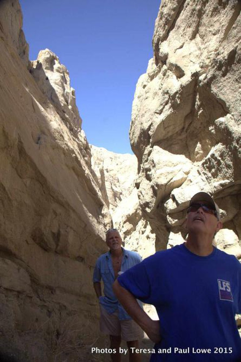 Guests take a guided tour deep into the heart of the San Andreas Fault!