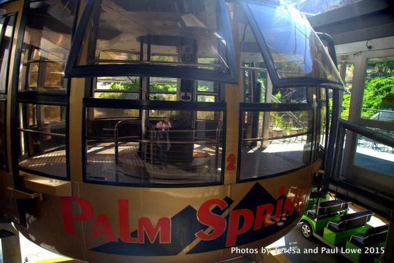 Want to go up?  Way, way up?  Take a ride on the Palm Springs Aerial Tramway!