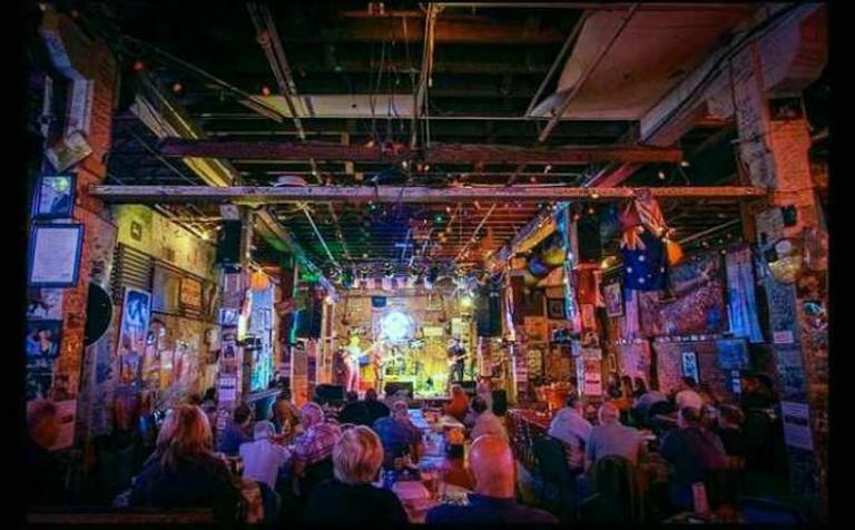 Ground Zero Blues Club Interior