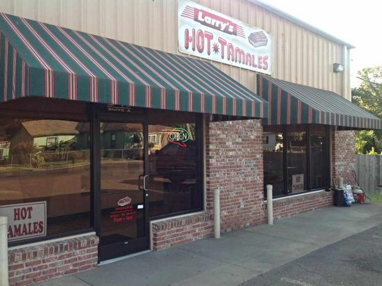 Larry's Hot Tamales Exterior | Courtesy of Larry's Hot Tamales