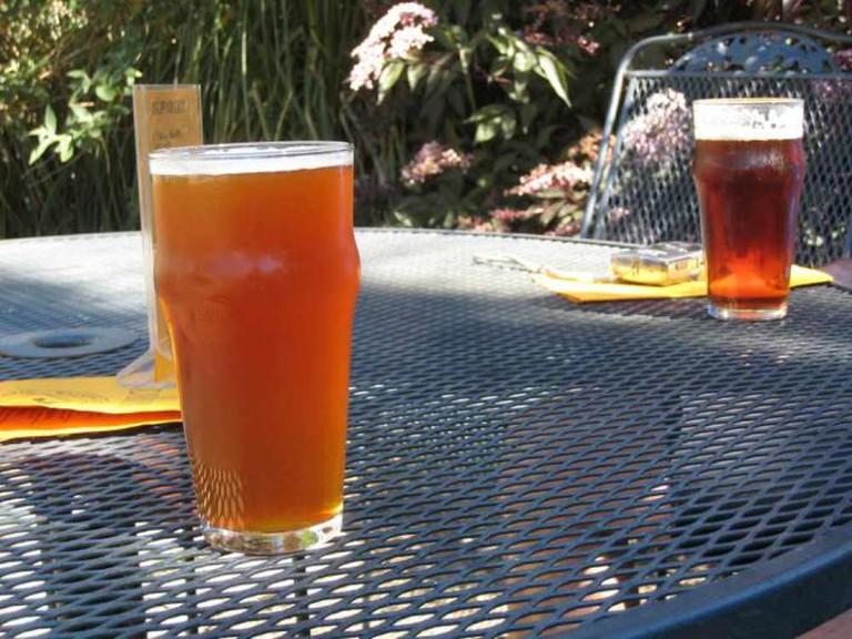 Refreshing beers at Walking Man Brewing | © m_e_mccarron/Flickr