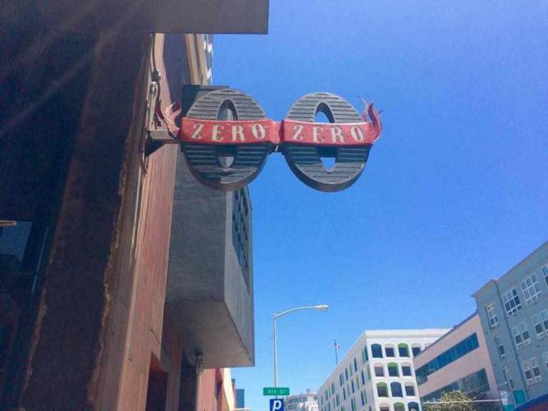 Restaurant Sign | Zero Zero