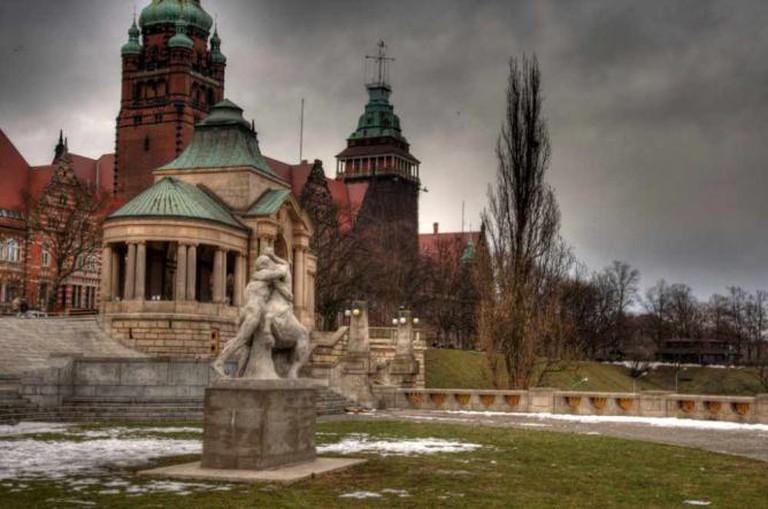 Wały Chrobrego, the location of Columbus | © VnGrijl/WikiCommons