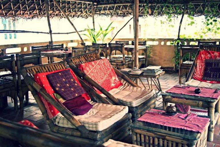 Kasha Ki Asha's garden rooftop | © Kasha Vande, courtesy of restaurant