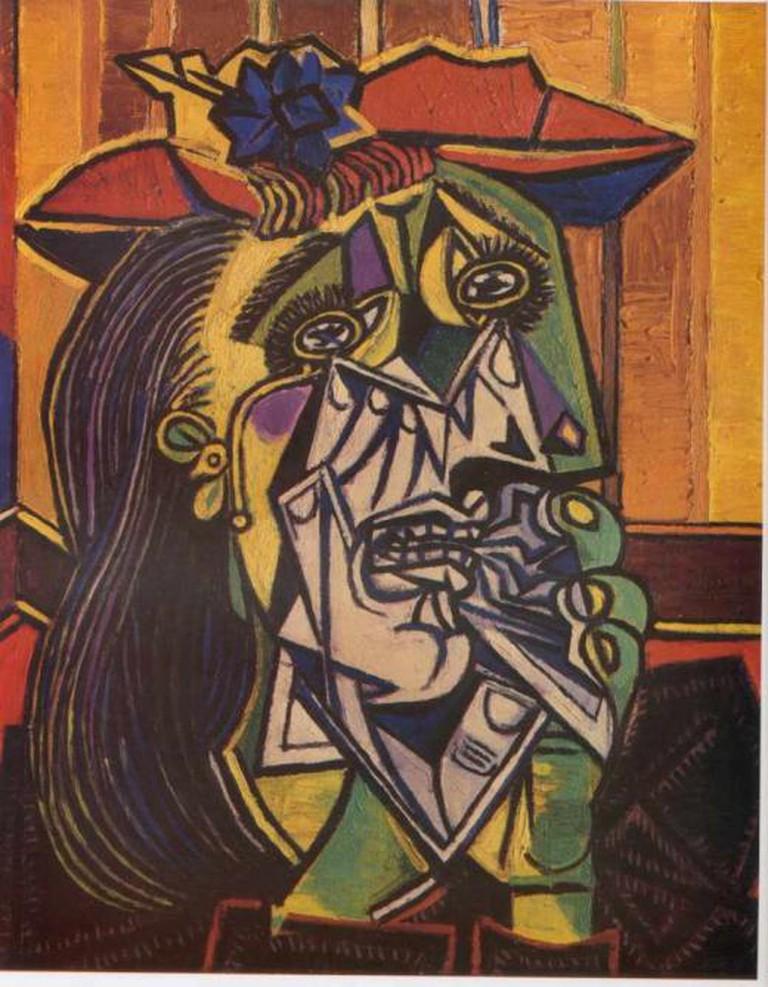 Picasso's famous Cubist style | © Ian Burt/Flickr