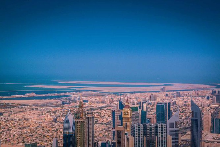 View from the Burj Khalifa|© Bertrand Duperrin/ Flickr