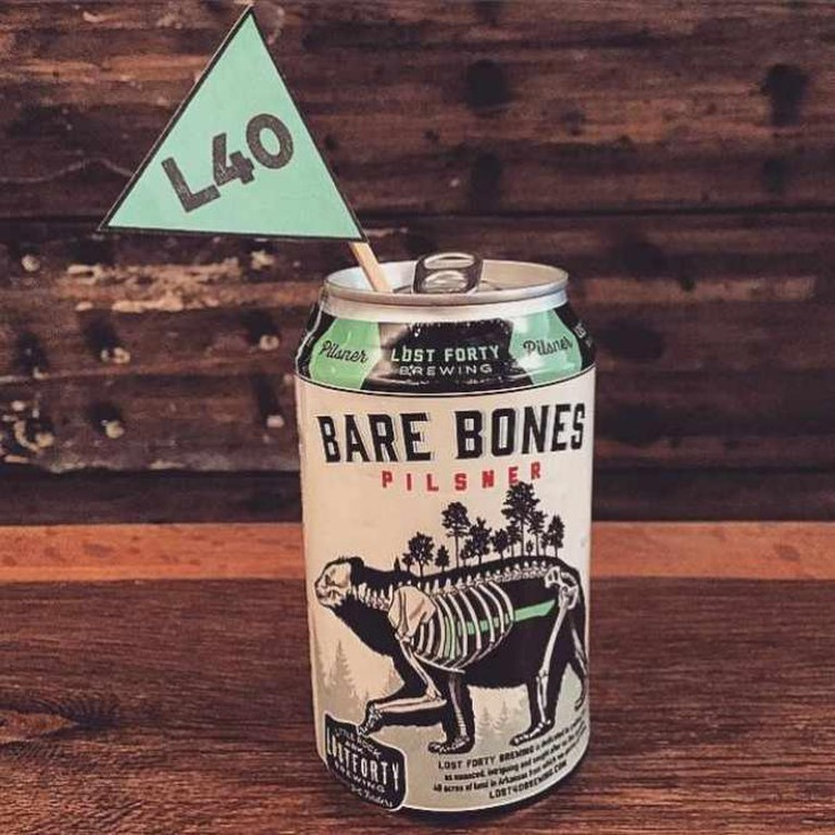 Lost Forty Brewing's Bare Bones Pilsner | Courtesy Lost Forty Brewing