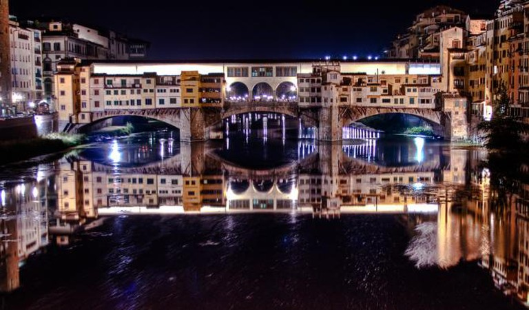 Ponte Vecchio by night | © Paolo Margari/Flickr