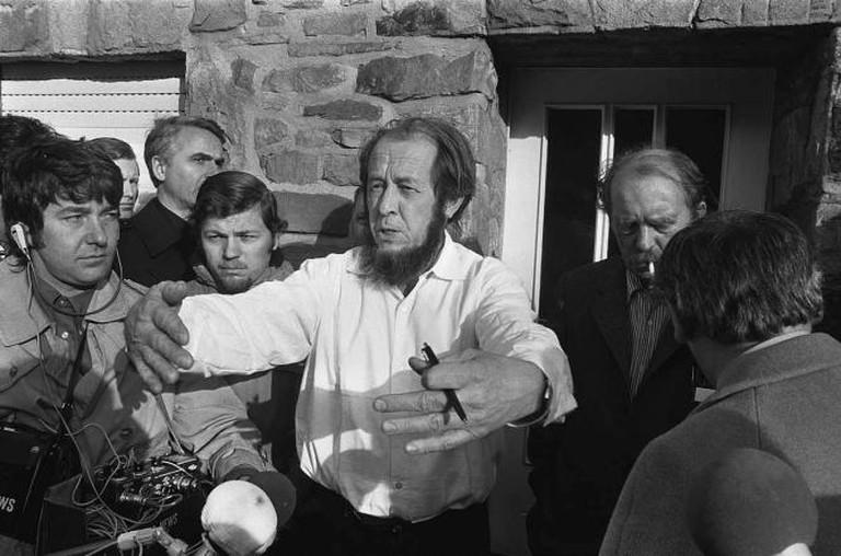 Aleksandr Solzhenitsyn in 1974 | © Verhoeff, Bert/Anefo/WikimediaCommons