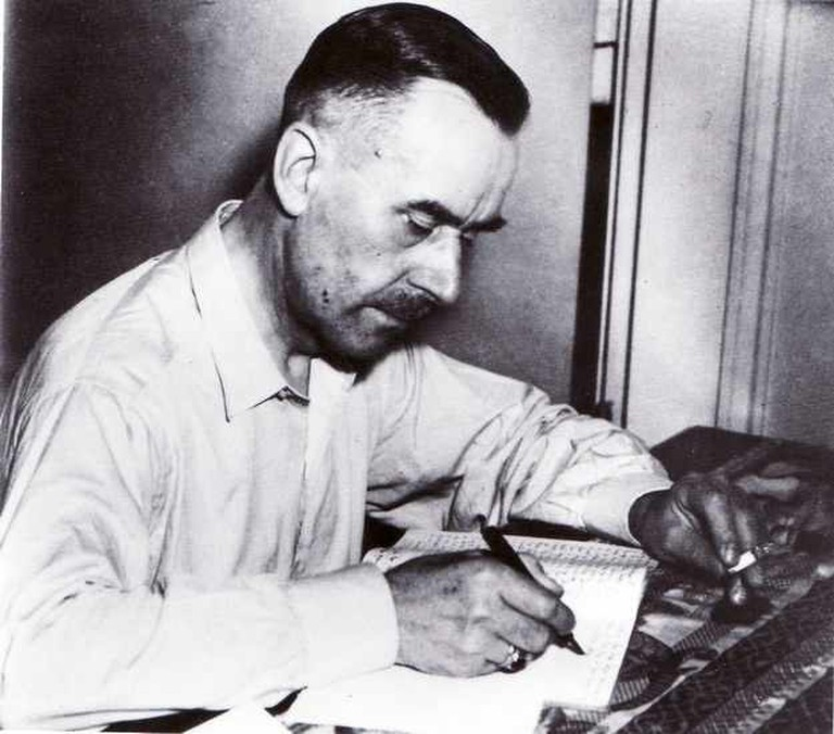 Thomas Mann, year 1939