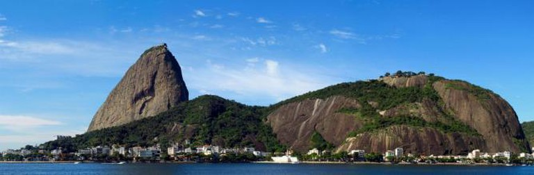 Urca, at the foothills of the Sugar Loaf Mountain