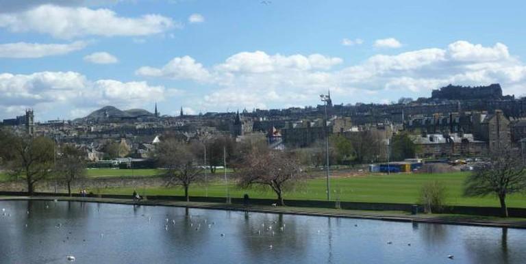 View of Edinburgh from Inverleith Park| © Kim Traynor/WikiCommons