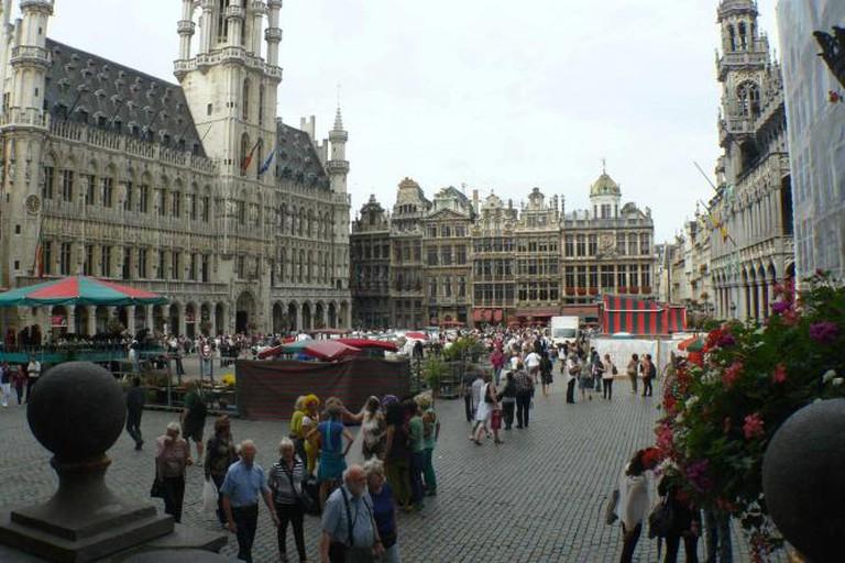 Bruxelles Maisons Bordant la Grand Place | © Galaxa1/WikiCommons