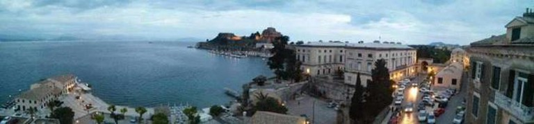 Panoramic view of the Old Fortress, Corfu | Courtesy of Evangelos Tsirmpas