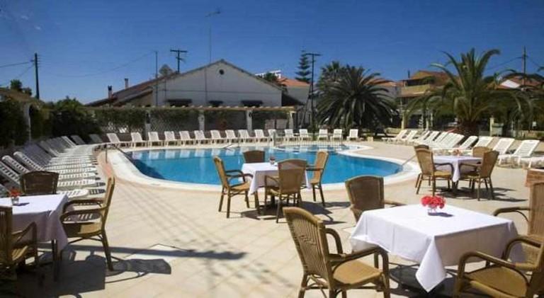 Konstantina Hotel poolside area | Courtesy of Konstantina Hotel