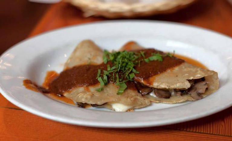 Mushroom Quesadilla | ©NeilConway/Flickrcommons