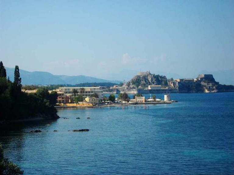 View of Anemomylos and the city of Corfu | Courtesy of Evangelos Tsirmpas