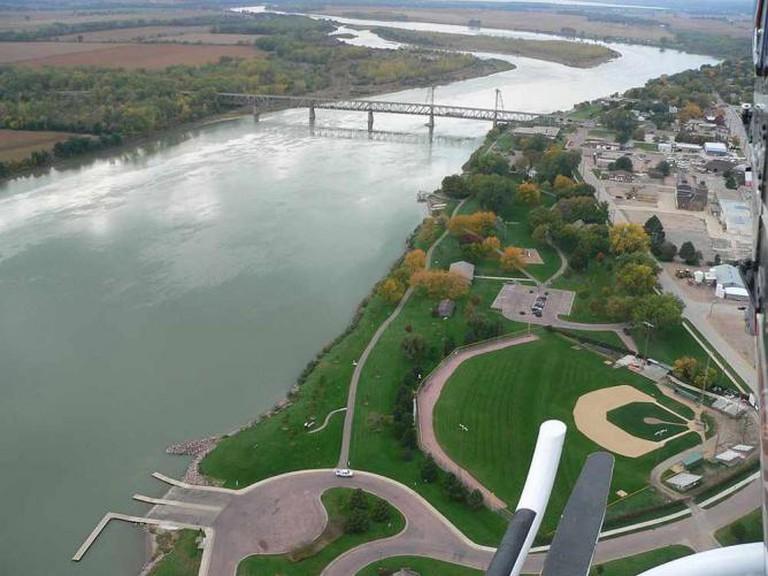 Yankton and the Meridian Bridge