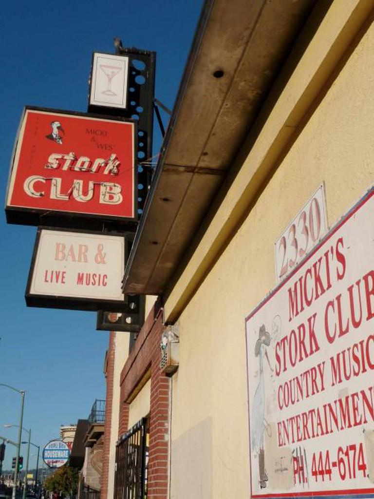 Stork Club Oakland |© benketaro