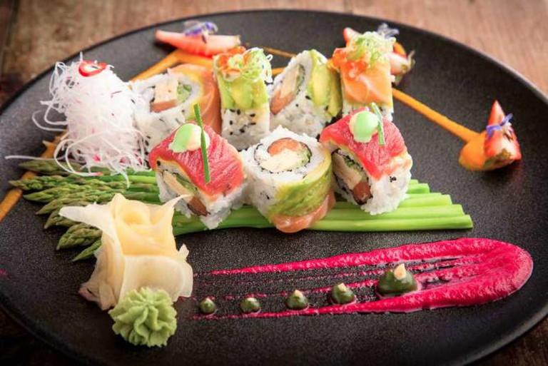 Sushi Platter | Courtesy Al Hamayim