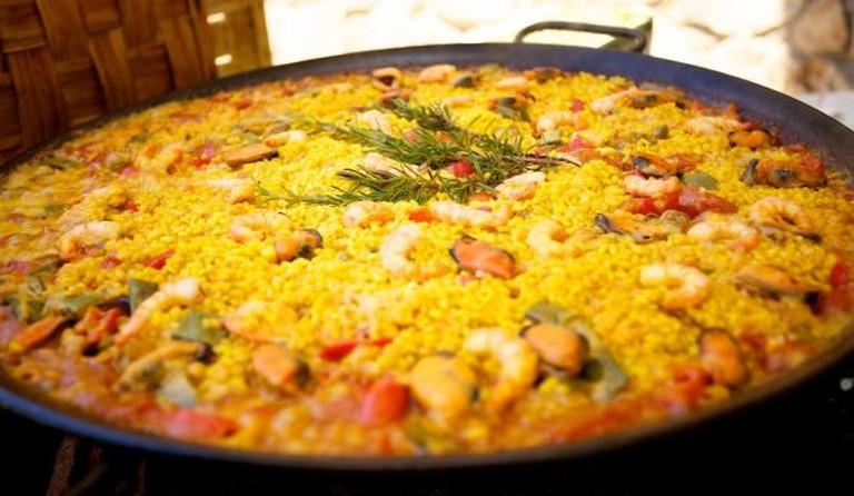 Mixed paella | © Jonathan Pincas/Flickr
