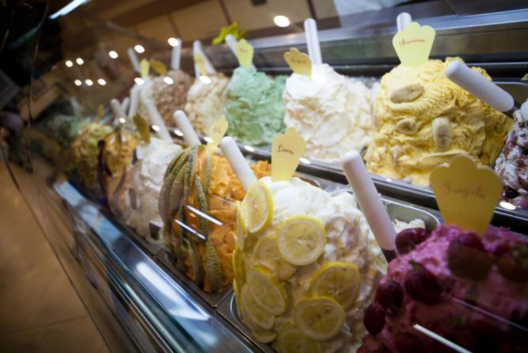 Fruit flavoured gelato | © Aurimas/Flickr