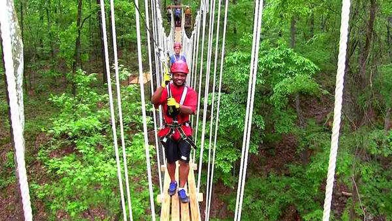Red Mountain Park Zip Line | ©Tony Lee Glenn/Google