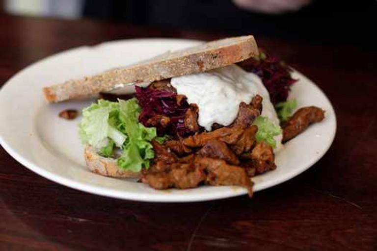 Vegan Sandwich at Baklust © Suzette/WikiCommons