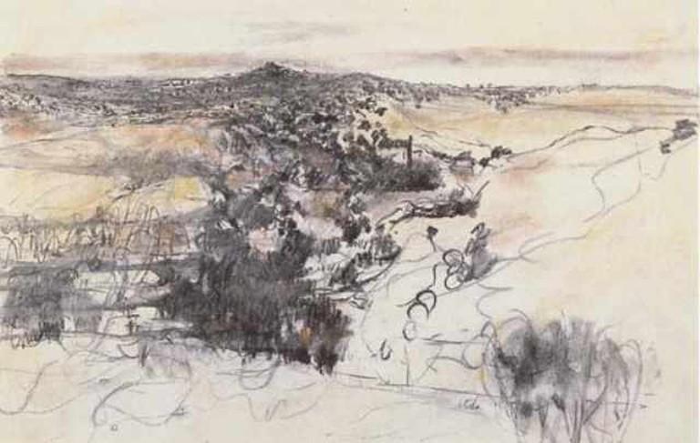'Jerusalem Hills' by Anna Ticho
