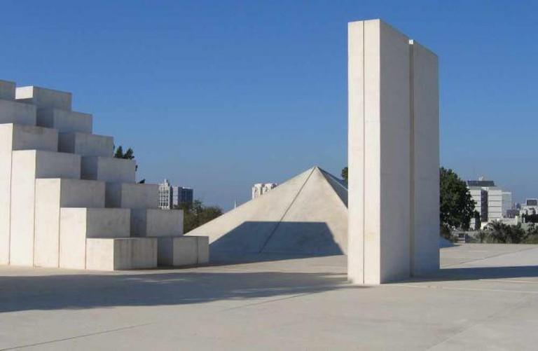 'White Square' by Dani Karavan, 1989
