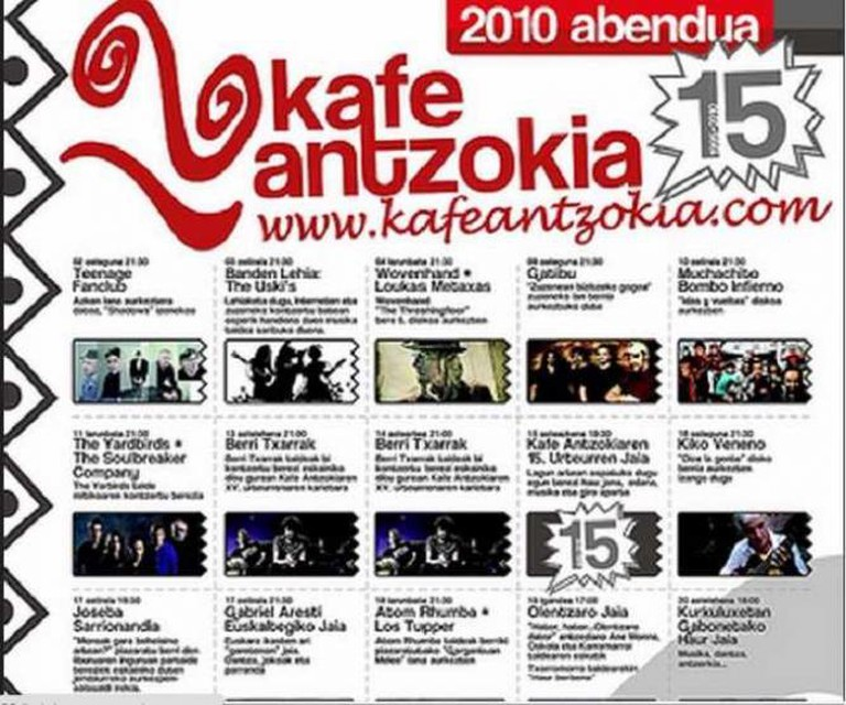 Kafe Antzokia flyer | © Kafe Antzokia/Flickr