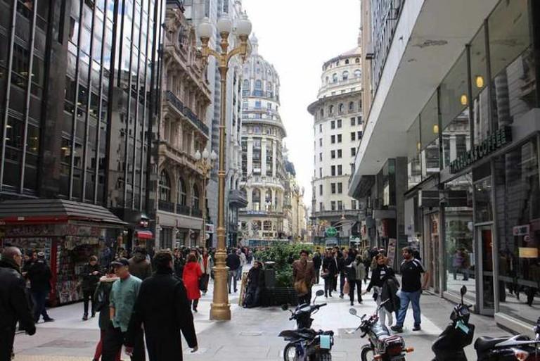 Calle Florida © Gobierno de la Ciudad de Buenos Aires/WikiCommons