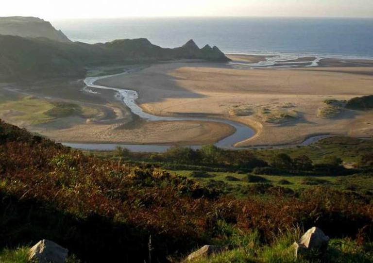Three Cliffs Bay | © DS Williams/ Flickr