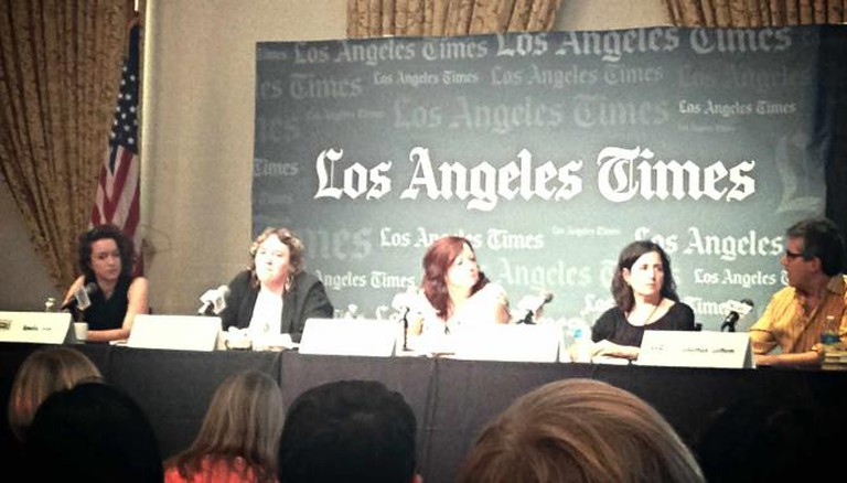 Los Angeles Times Festival of Books Fiction Panel / Jennifer Rae Smith