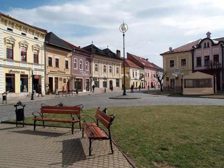 Kezmarok Main Square | © Kezmarcan/WikimediaCommons