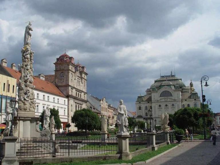 Downtown Košice | © Maros/WikimediaCommons