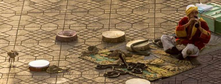 A snake-charmer in Marrakech | © foto.jam/ Flickr