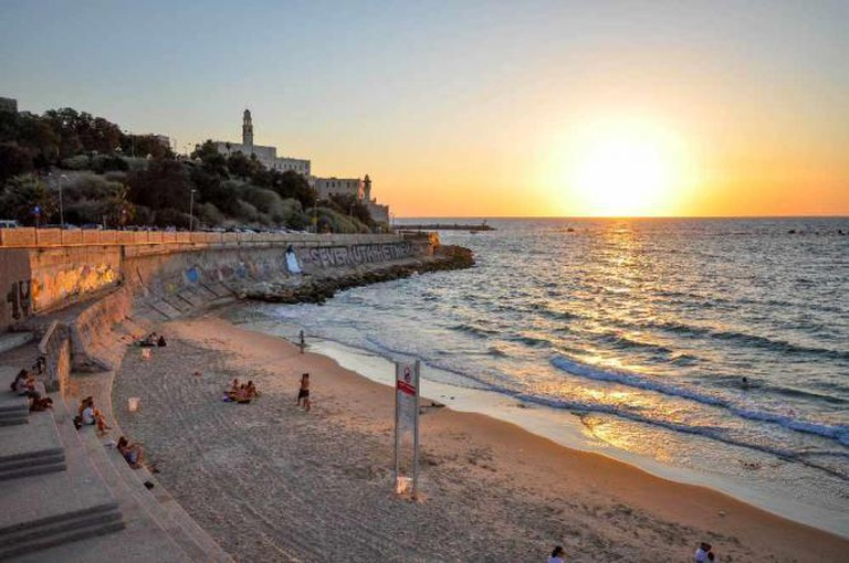 Photo by: Jorge Láscar@Flickr Caption: Last sandy beach before Jaffa