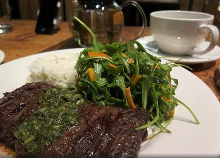 The Grove Hayes Steak and Moroccan Veggies | (c) Kennejima/Flickr
