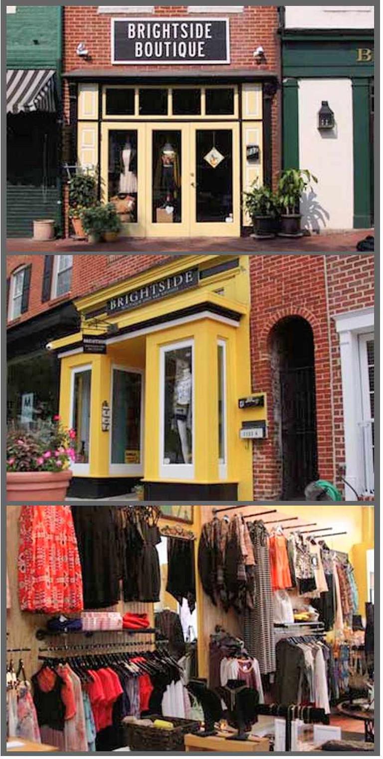 Brightside Boutique & Art Studio | Courtesy of Brightside Boutique & Art Studio (goes with the third boutique, Brightside)