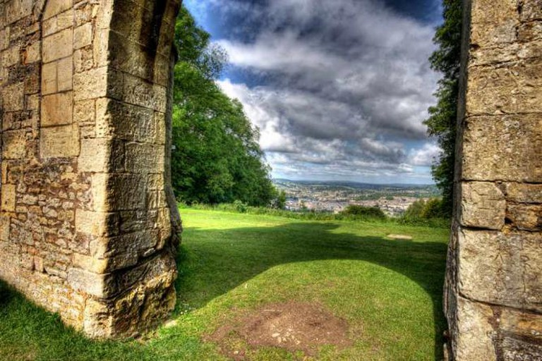 A view of Bath from Sham Castle
