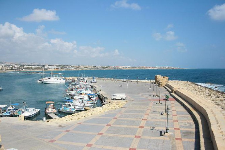 Paphos docks | © Julien/Flickr