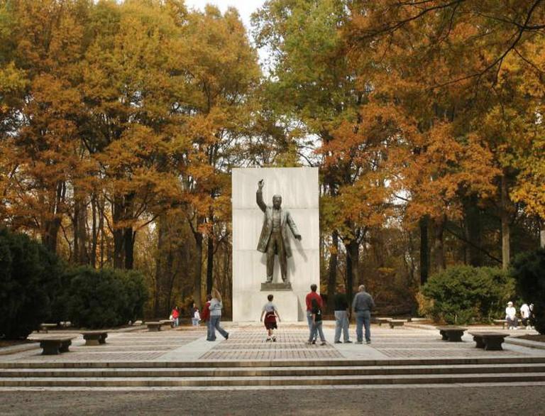 Theodore Roosevelt Memorial, Roosevelt Island Park