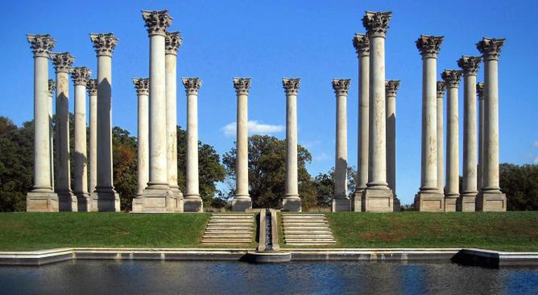 National Capitol Columns at the National Arboretum | ©AgnosticPreachersKid/WikiCommons