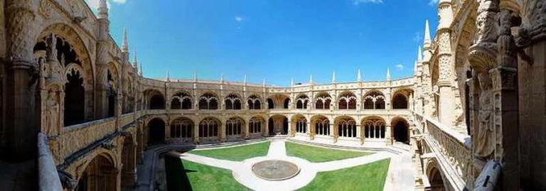 Jerónimos Monastery cloisters | © Christian Thiele/WikiCommons