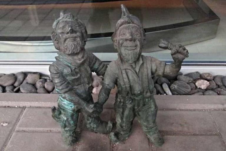 Dwarves at Księcia Witolda street | © Evelyn Aschenbrenner/Flickr